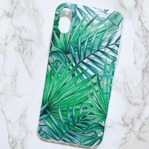 Accessories - Tropical Palm-Print iPhone X Case